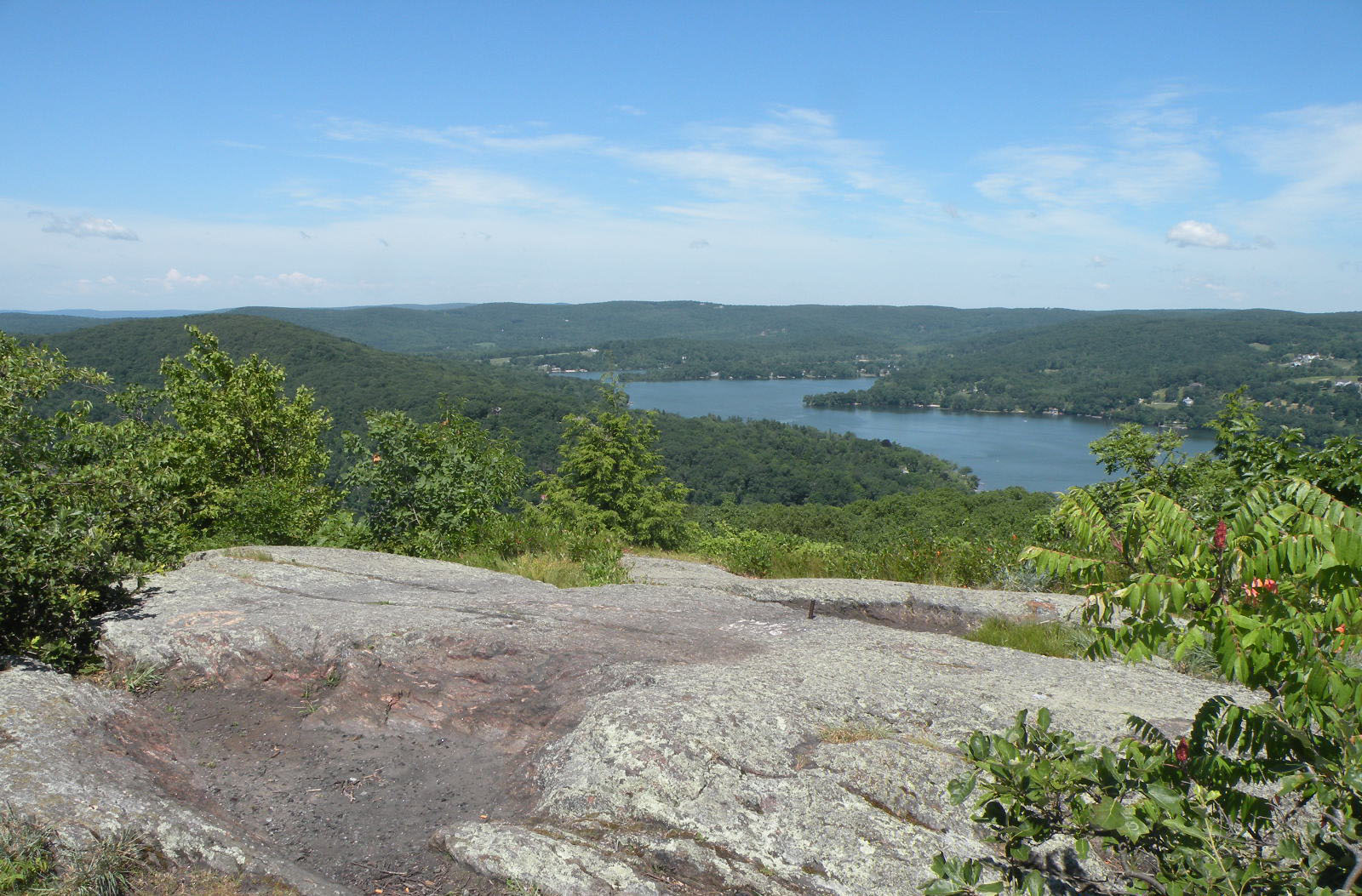 View of Lake Waramaug