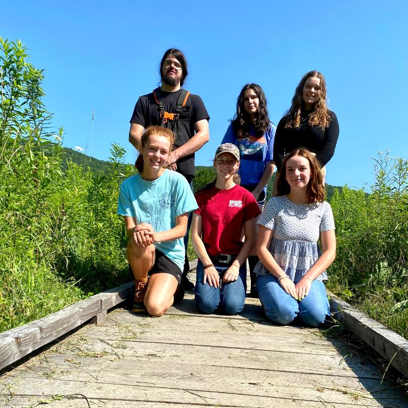 2021 Interns at Steep Rock